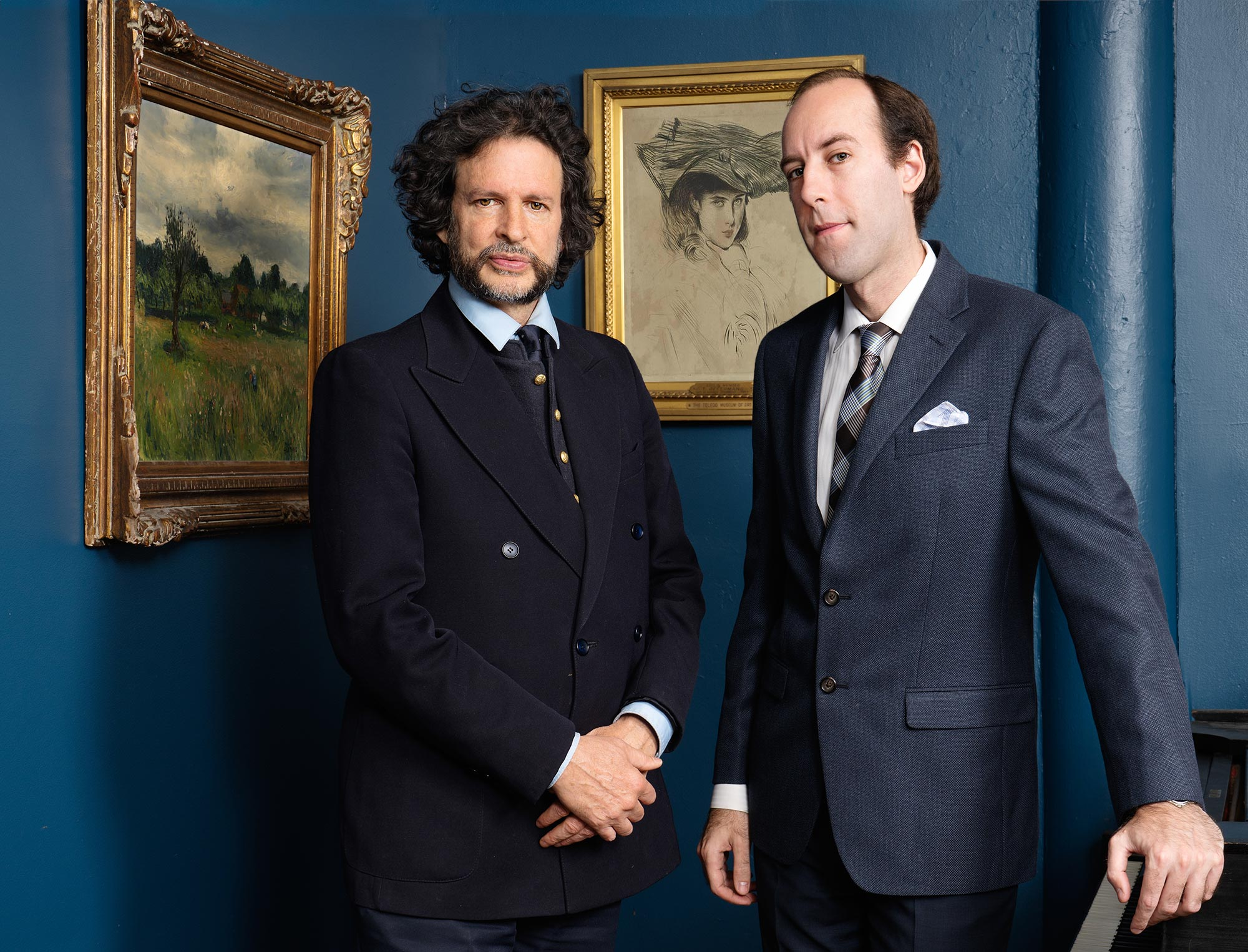 Photo of Gregory Singer and Steven Zynszajn of Elegant Century Art